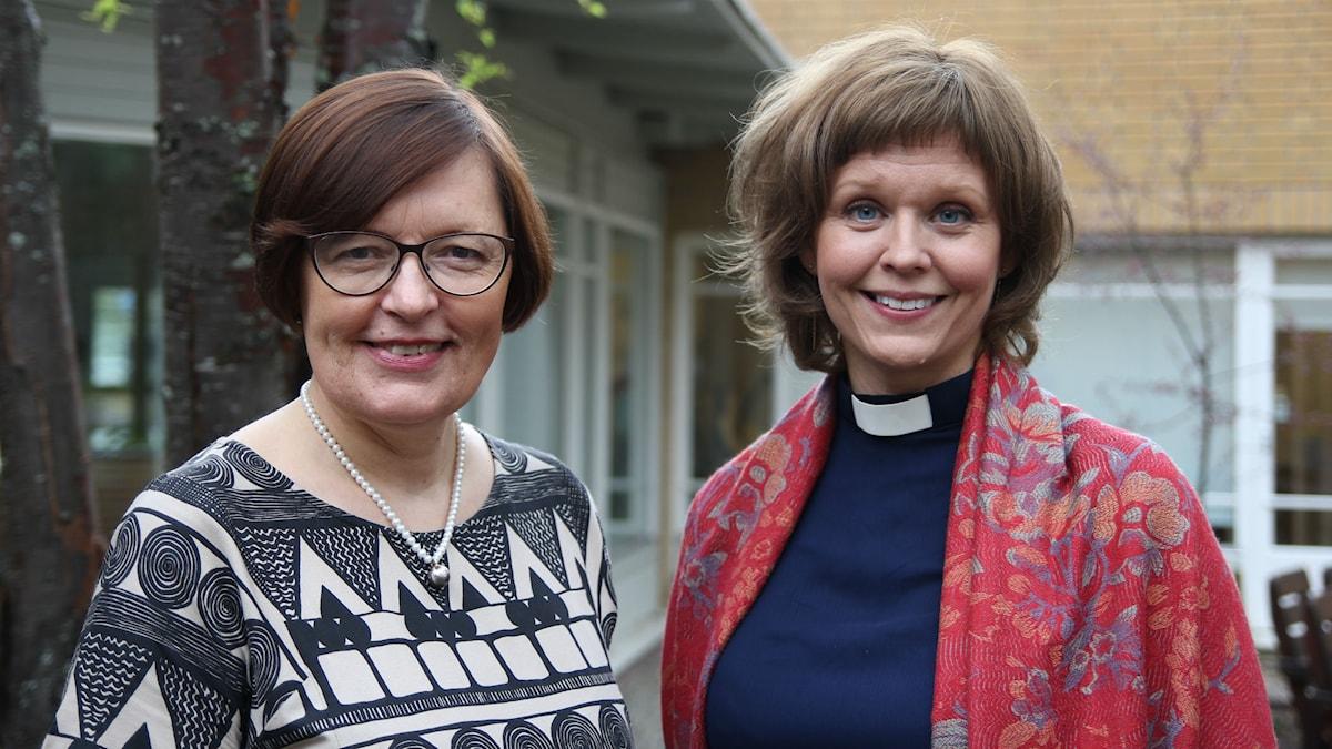 Mariann Lestander och Linda Vikdahl.