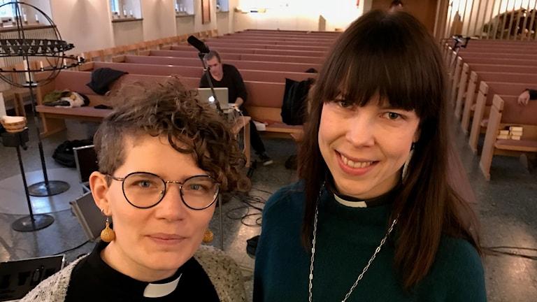 Ida Wreland och Christina Ohlsson.