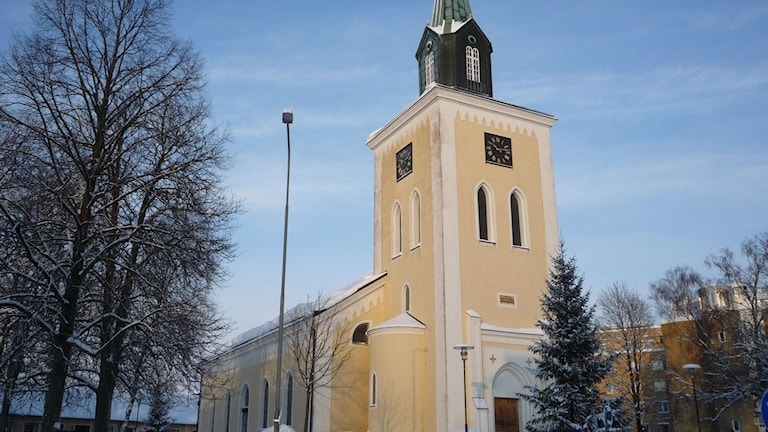 Ljungby kyrka.