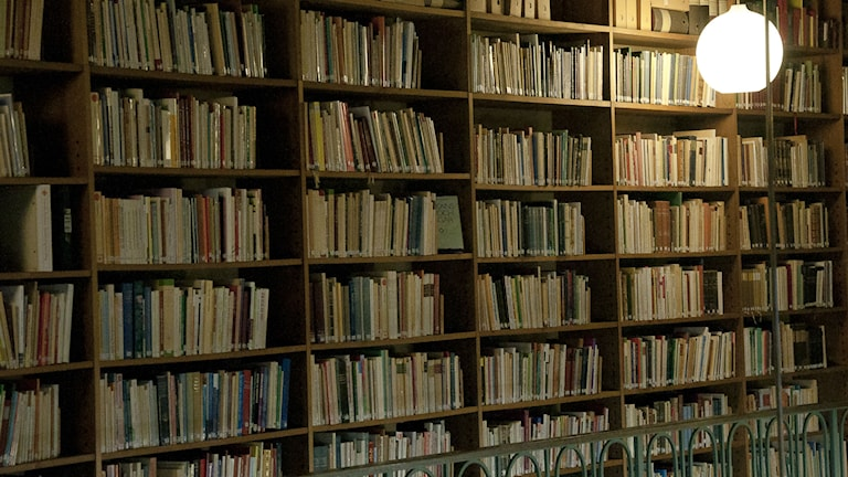 Sigtunastiftelsen bibliotek. Foto: Siri Ambjörnsson/Klippan Produktion.