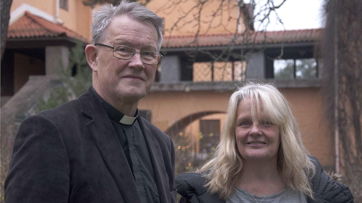 Lars Björklund och Maria Küchen. Foto: Siri Ambjörnsson.