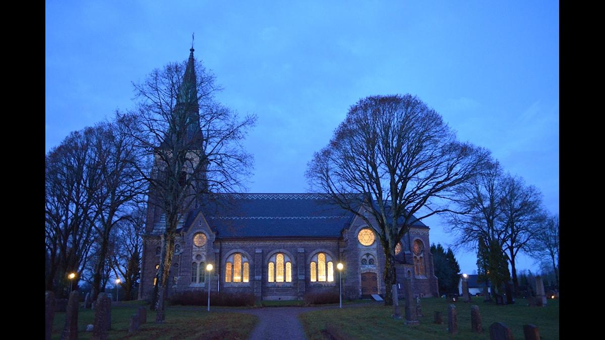 Sundals-Ryrs kyrka, Dalsland. Foto: Barbro Magnusson.