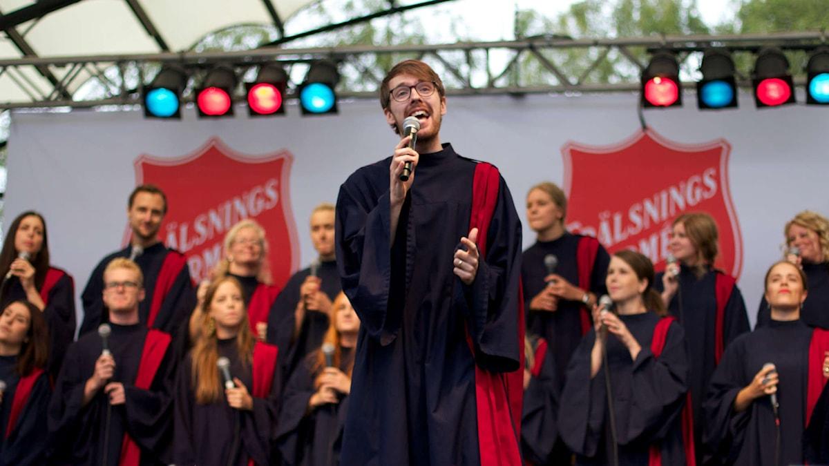 Vasa Gospel har gett ut fem skivor och är ofta ute på turné.  Foto: Andreas Månsson.