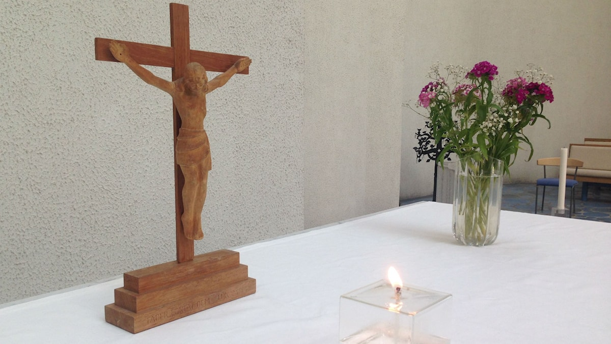 Altare i Matteus kyrka. Foto: Agneta Nordin.