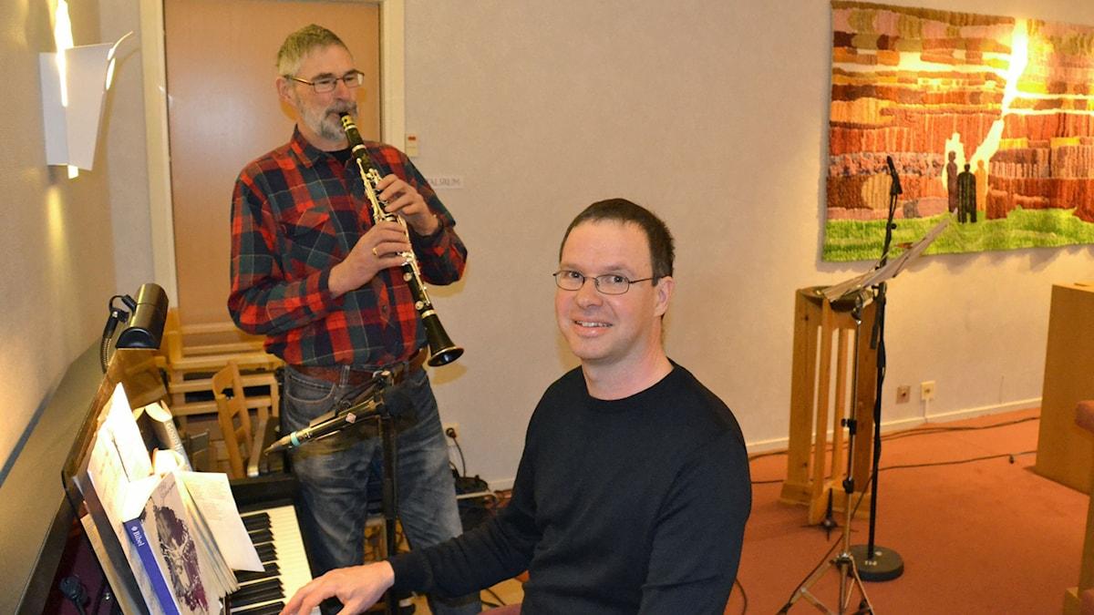 Anders och Per Grimell. Foto: Gunilla Nordlund.