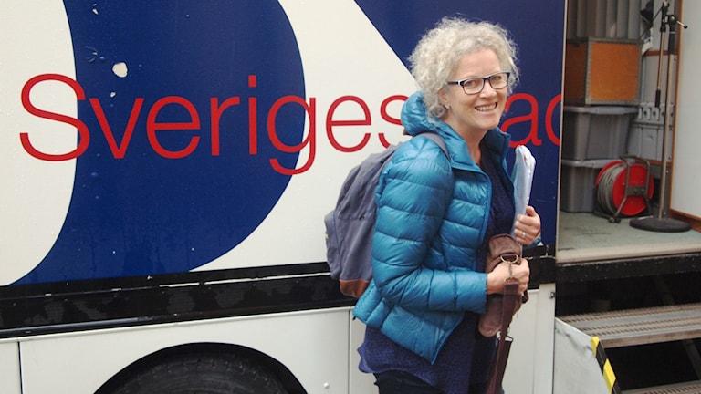 Katarina Josephsson. Foto: Inge Amundsen/Sveriges Radio-