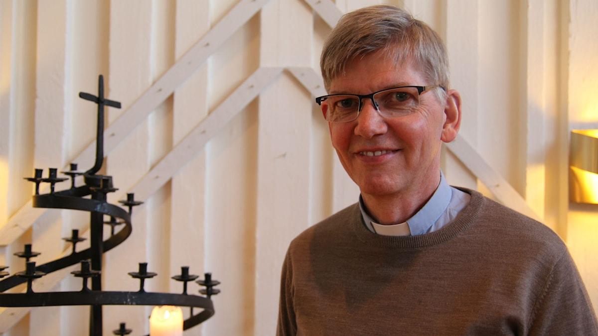 Prästen Lars-Martin Nygren