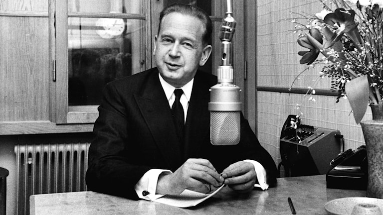 Dag Hammarskjöld 1958.