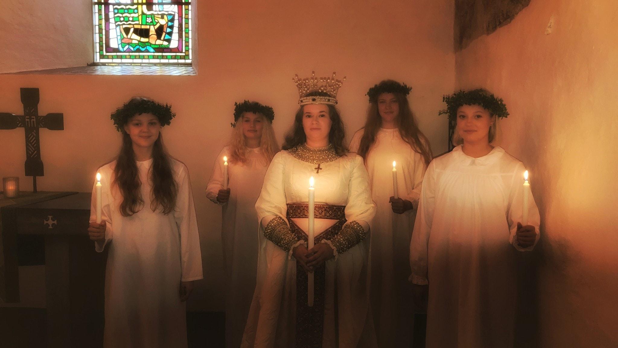 Lucia sprider ljus och hopp