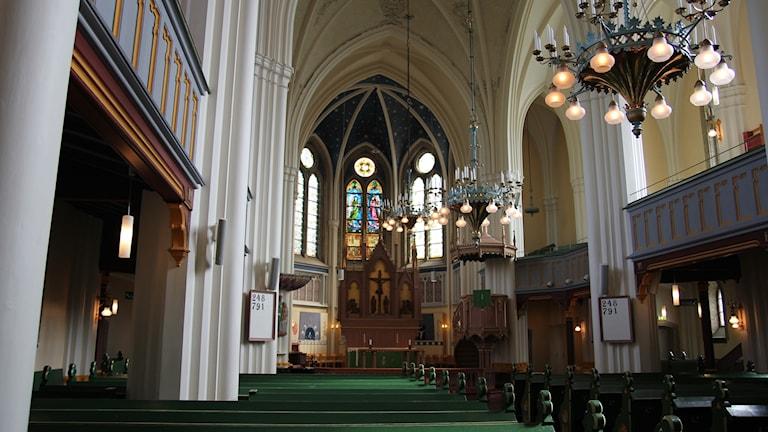 Umeå stads kyrka.