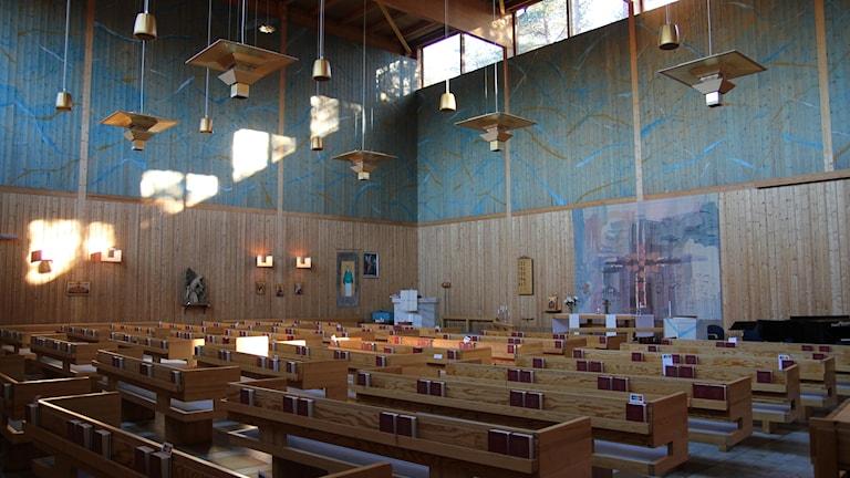 Ålidhemskyrkan i Umeå.