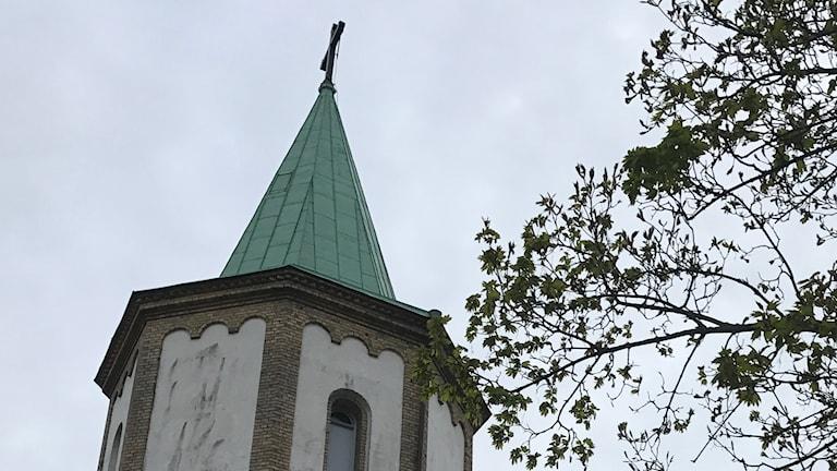 Västra Skrävlinge kyrktorn