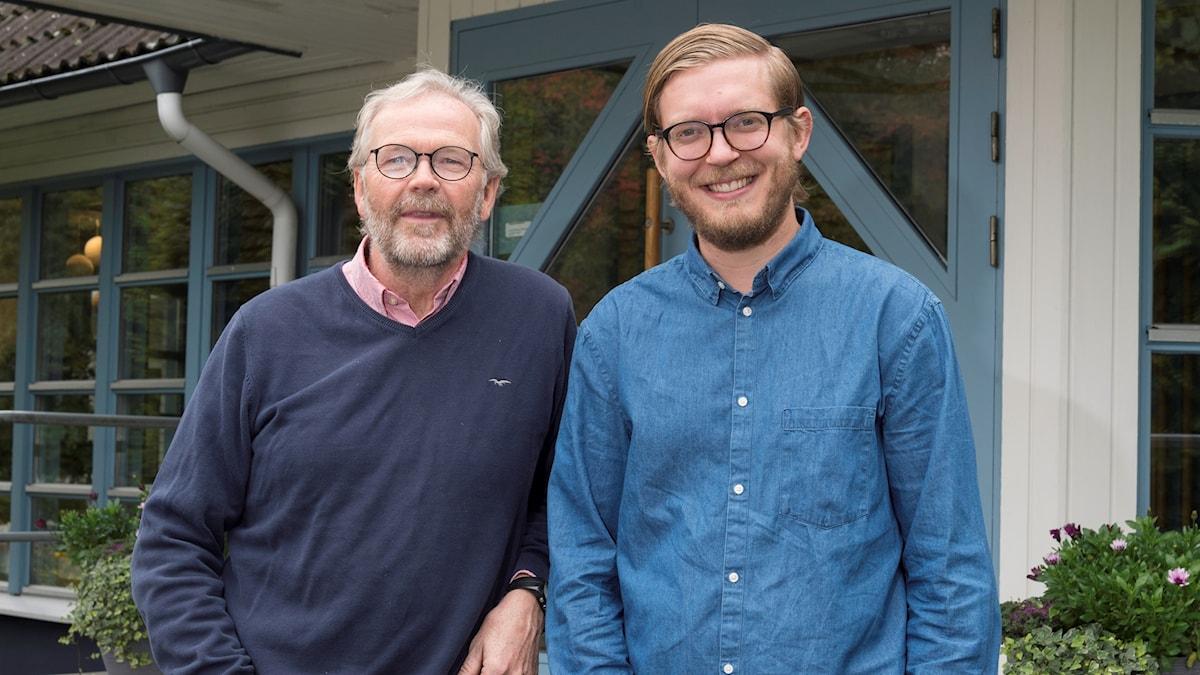 Mogens Nielsen och David Hjelmqvist.