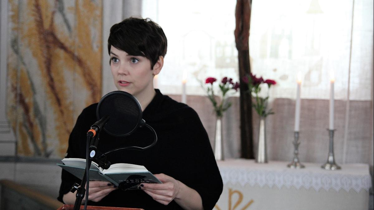 Författaren Andrea Lundgren.