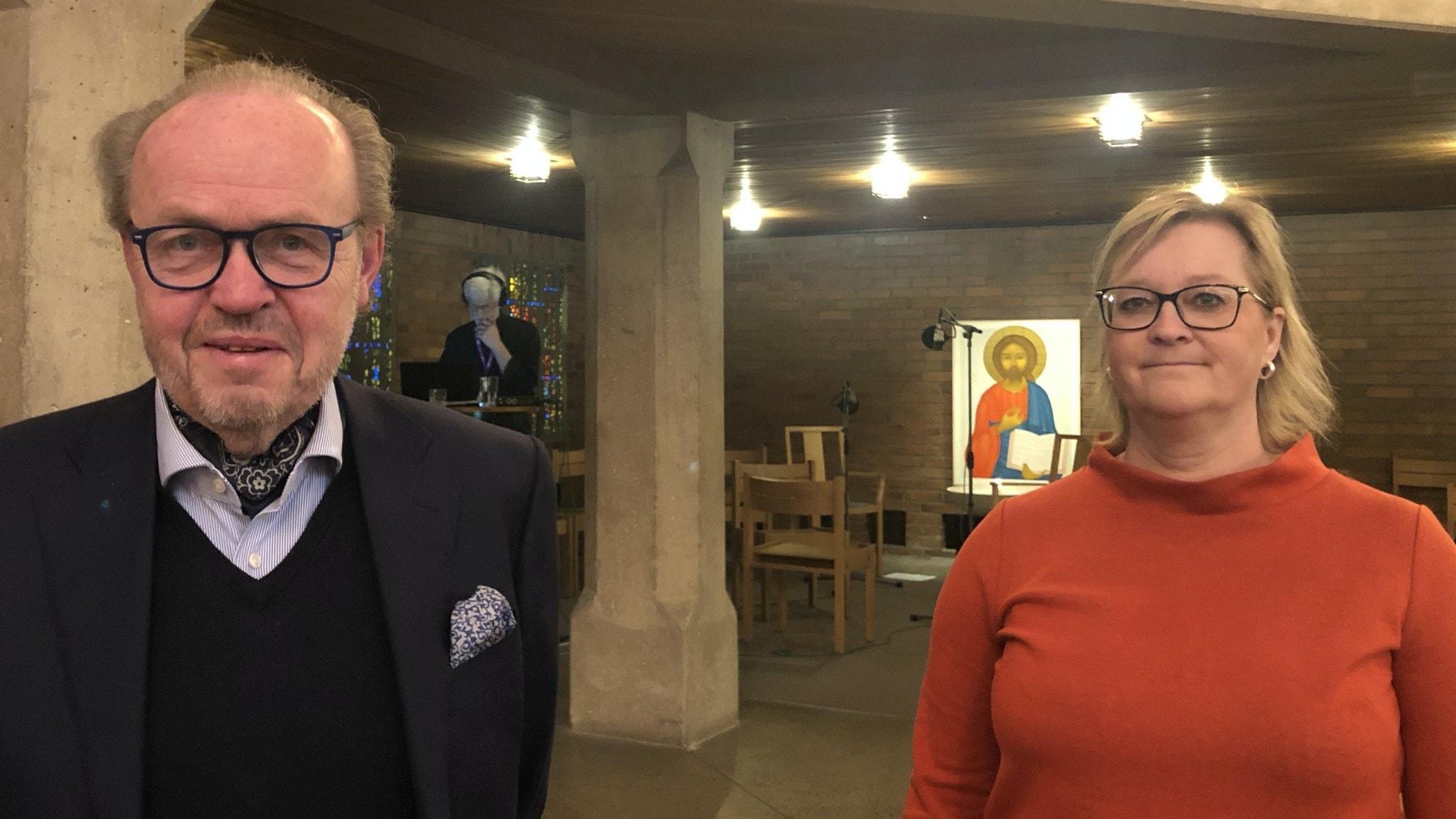 Gillis Edman och Ulrika Henkelman