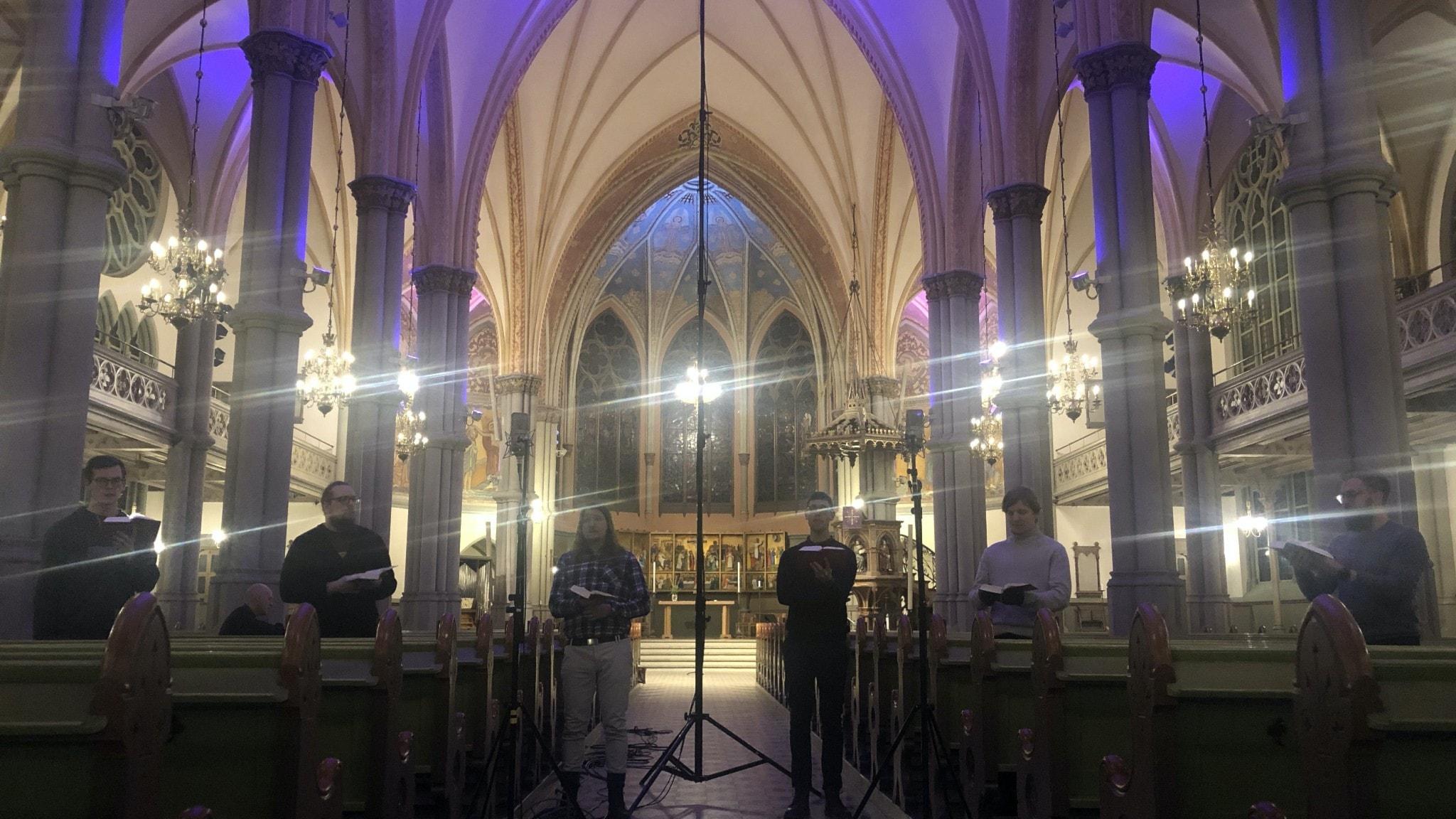 Ars Veritas i Oscar Fredriks kyrka