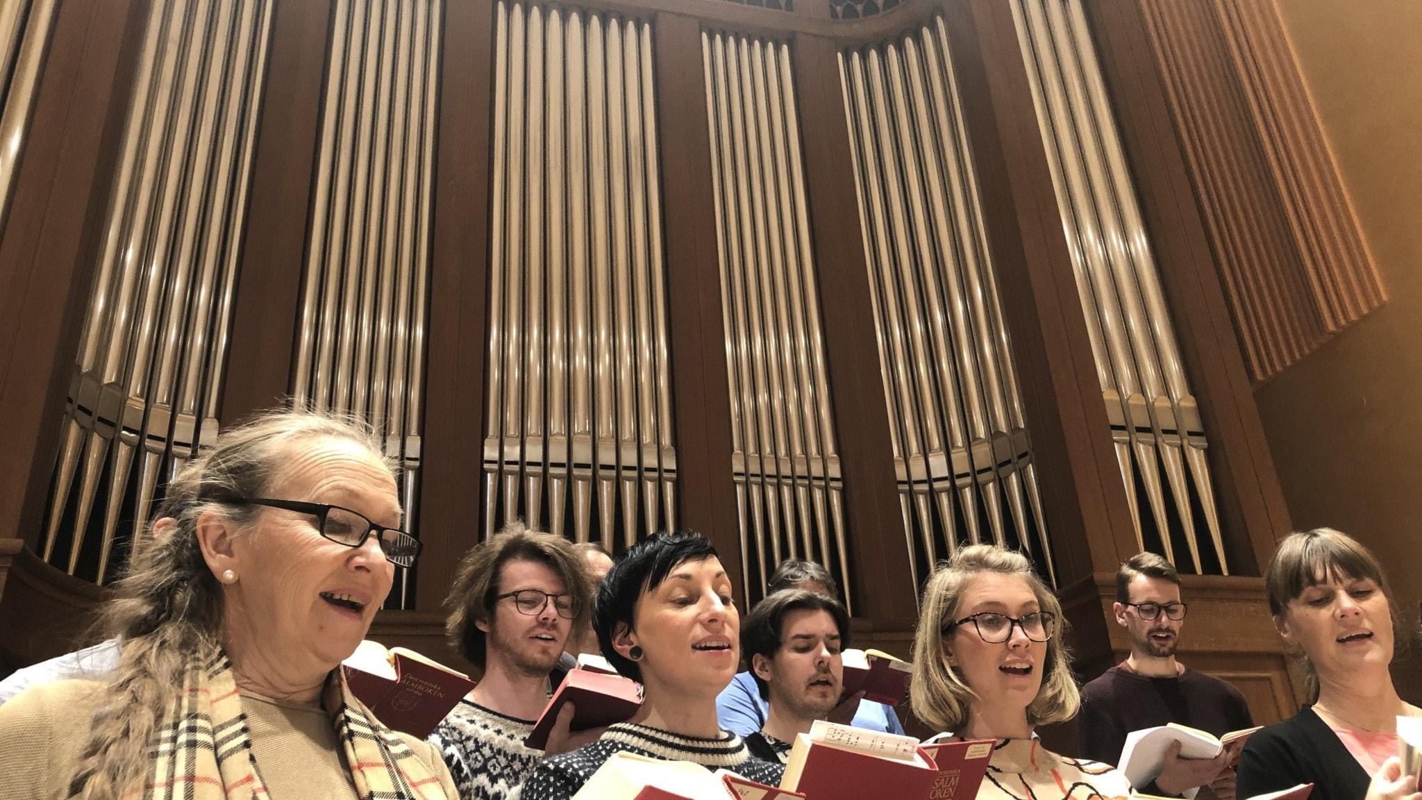 Kör och fransk orgel
