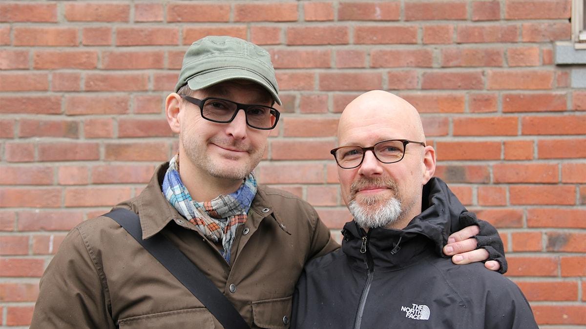 Mattias Hjalmarsson och Christofer Sjödin.