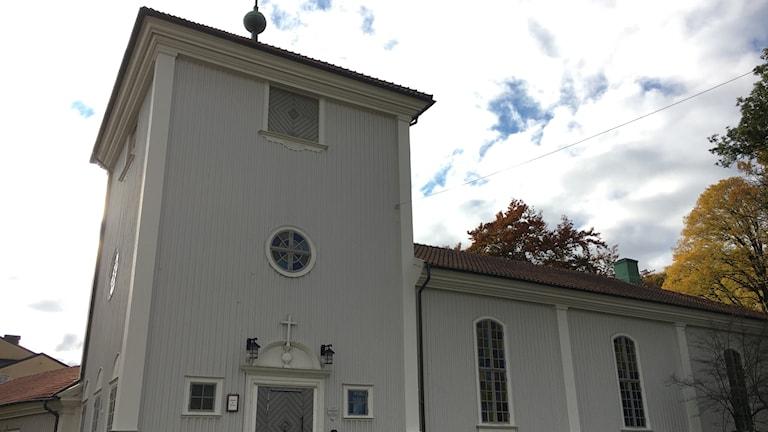 Brämaregårdens kyrka i Göteborg.