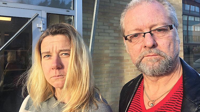 Kristin Holmberg och Krister Classon