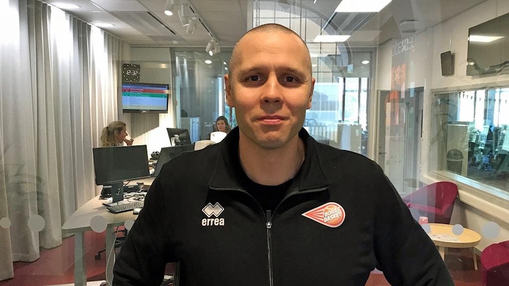 Henrik Svensson huvudcoach Borås basket