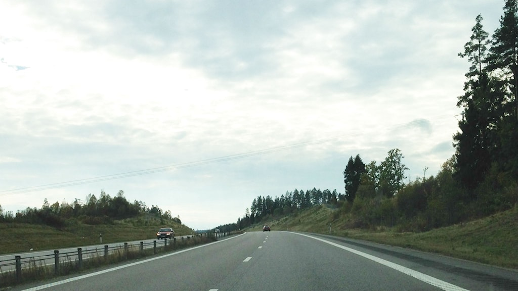 Riksväg 40 mot Borås.