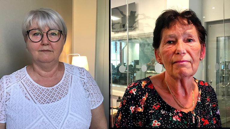 Två politikerkvinnor i Borås.