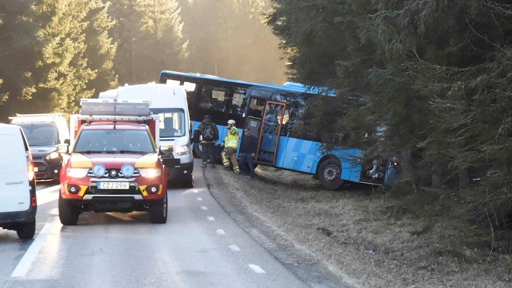 Bussolycka Svenljunga