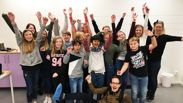 Bollebygdskolan 5B möter Tingvallaskolan 5A den 18 januari.