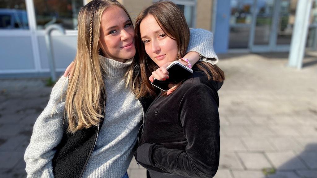 Nellie Appel och Sejla Mecavica