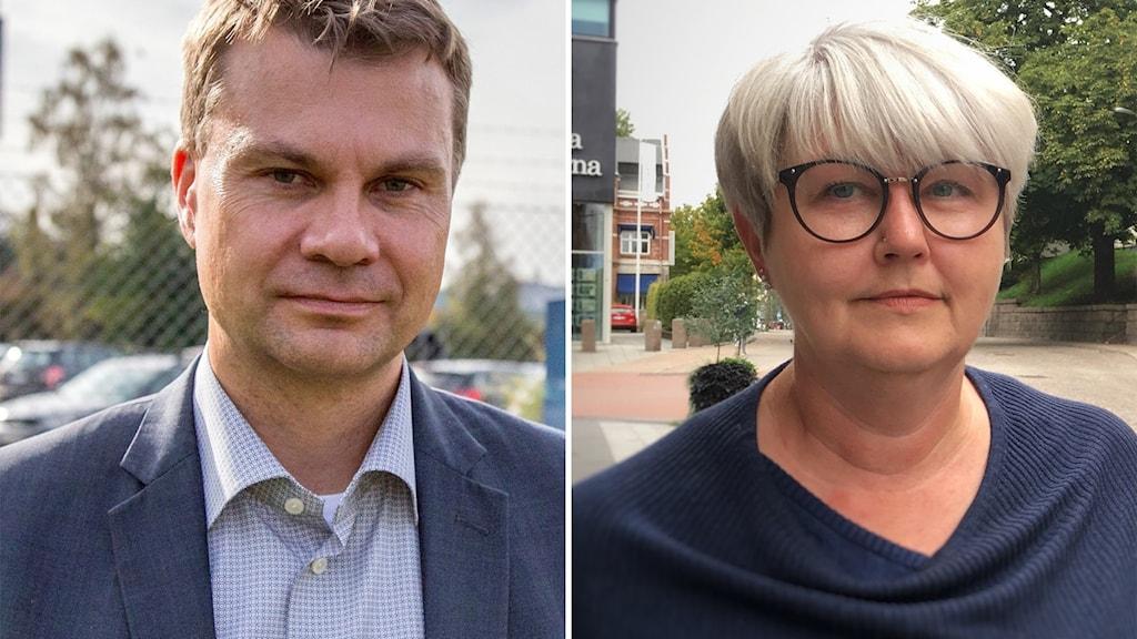 Annette Carlson och Ulf Ohlsson