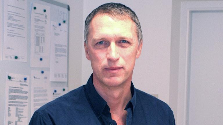 Smittskyddsläkaren Peter Ulleryd. Foto: SR Sjuhärad.