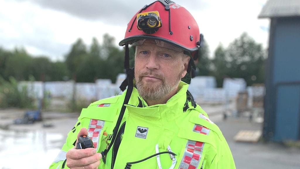 Räddningsledare brandkår