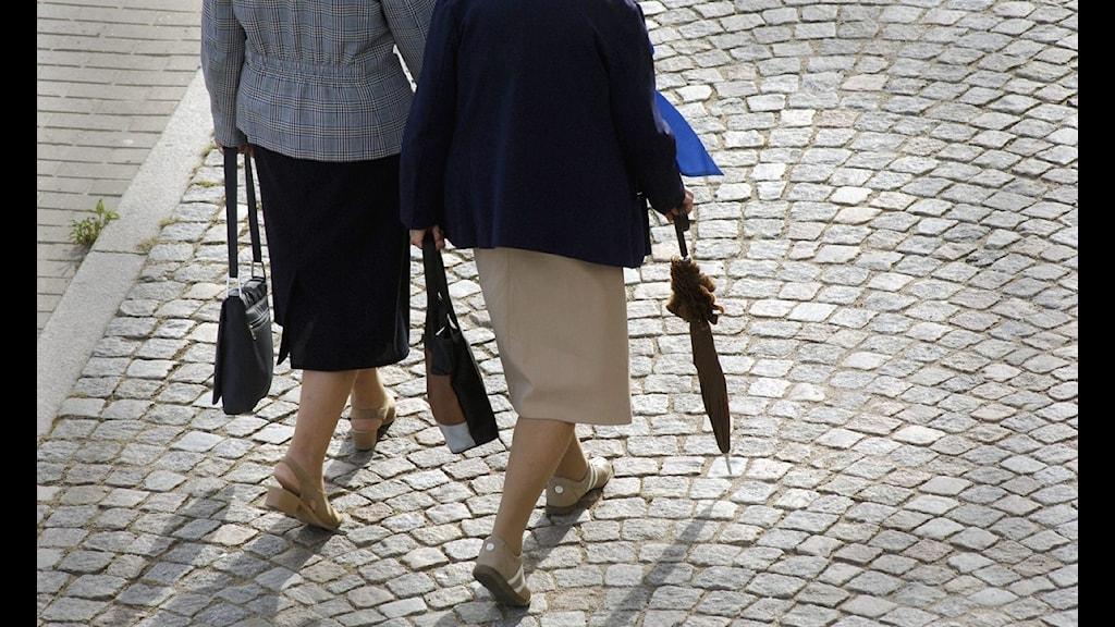 Pensionärerna dominerar i Svenljunga.