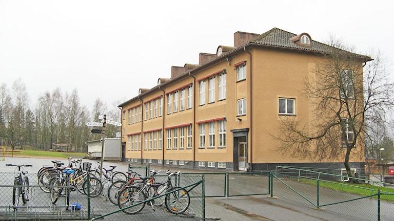 Mogaskolan i Svenljunga Foto:SR Sjuhärad