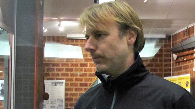 Sportchef Jonas Larsson.