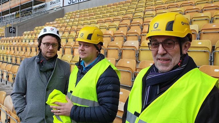 Representanter från Borås arena och Elfsborg