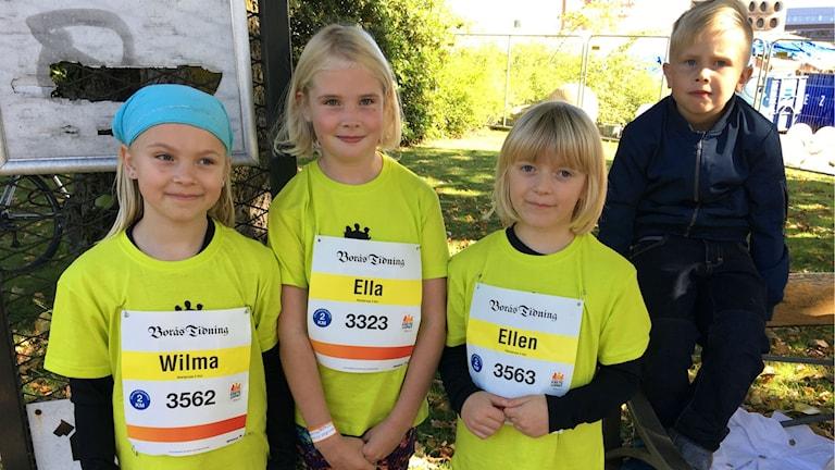 Wilma Torstensson, Ella Flinck, Ellen Torstensson