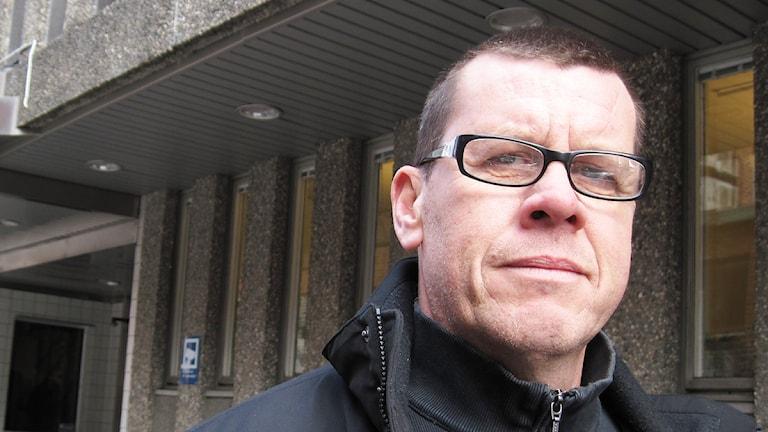 Kriminalinspektör Hans Andrén, Foto: Jesper Ingevaldsson, P4 Sjuhärad.