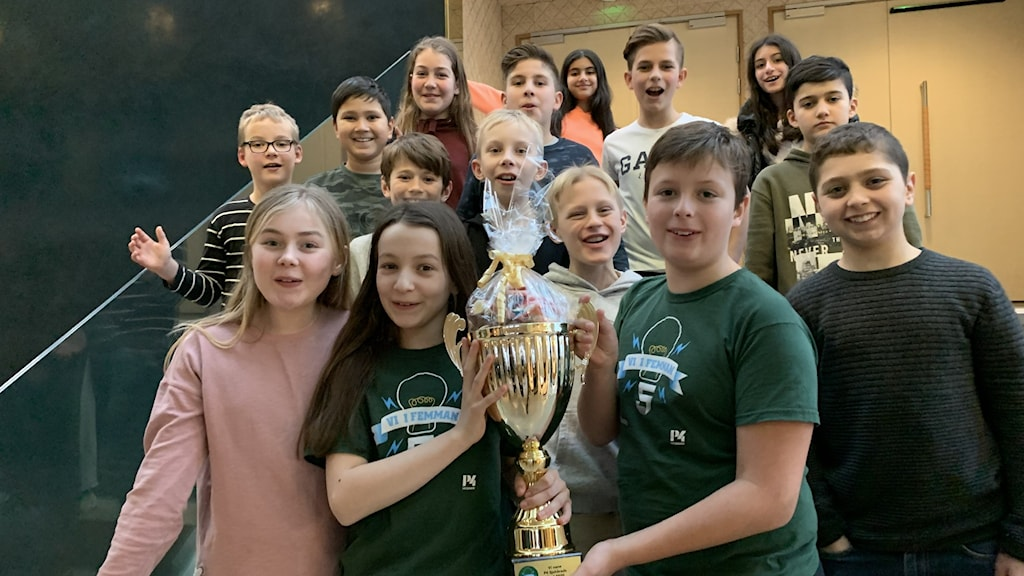 Myråsskolan 5Gul vann den lokala finalen 2020.
