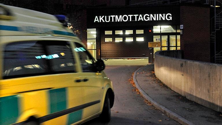 Ambulans. Foto Leif R Jansson / SCANPIX.