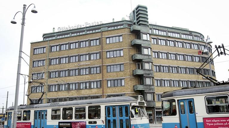GP-huset i centrala Göteborg. Foto: Frida Winter/TT