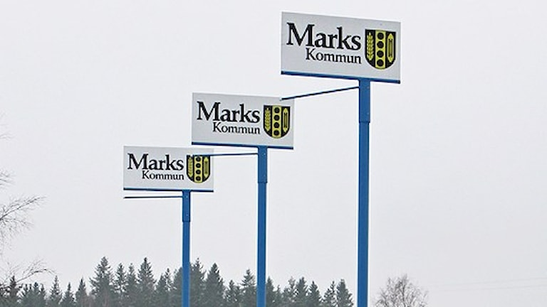 Marks kommun. Foto: P4 Sjuhärad.