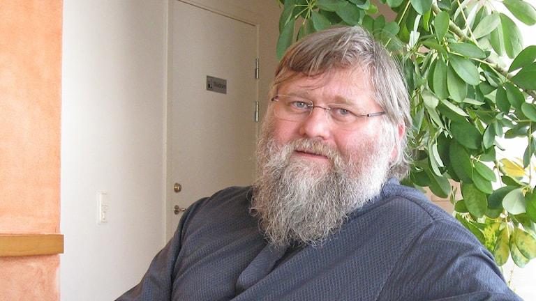 Per-Olof Hermansson, från Horred är ledande KD-politiker i Sjuhärad och sitter som socialnämndens ordförande och är fullmäktigeledamot. Foto: Jan-Åke Thorell.