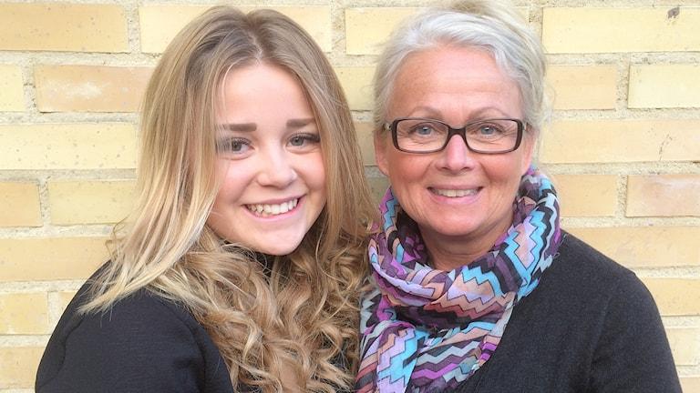Marie Arturén och Agnes Johansson ställer upp för Världens barn
