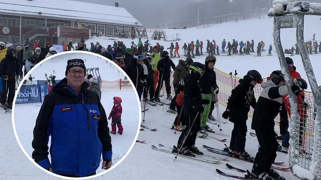 Per Johansson vid Ulricehamn Ski Center