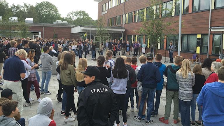 Invigning av Bodaskolan i Borås.