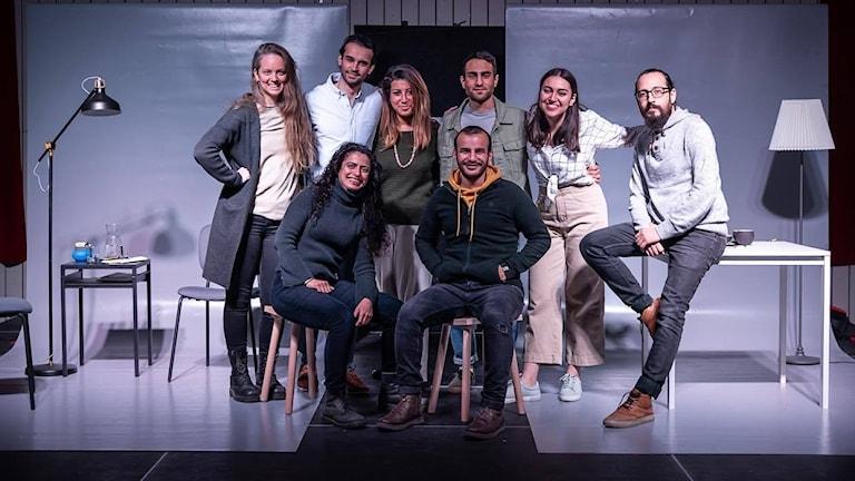 Arabiska teatern i Sverige har drygt 60 tusen följare på facebook