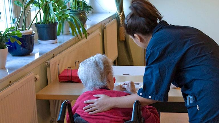 Undernäring är ett utbrett problem inom äldreomsorgen. Foto: Henrik Montgomery / Scanpix