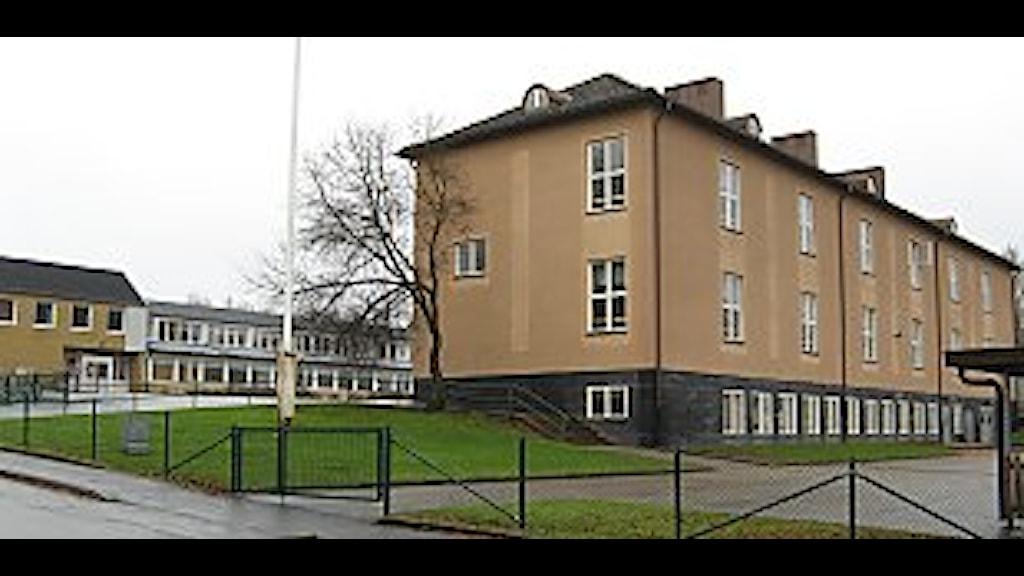Mogaskolan i Svenljunga. Foto Jan-Åke Thorell